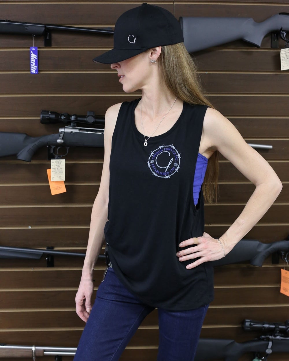 Image of #2A Ladies Muscle-T