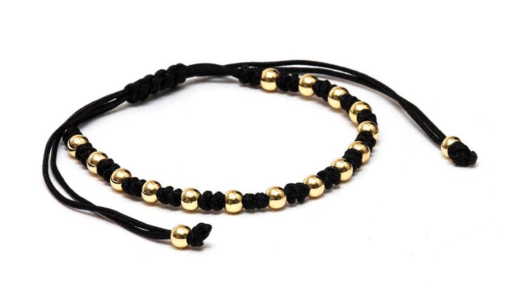 Image of ZENGER Braided 18kt Gold Plated Macrame