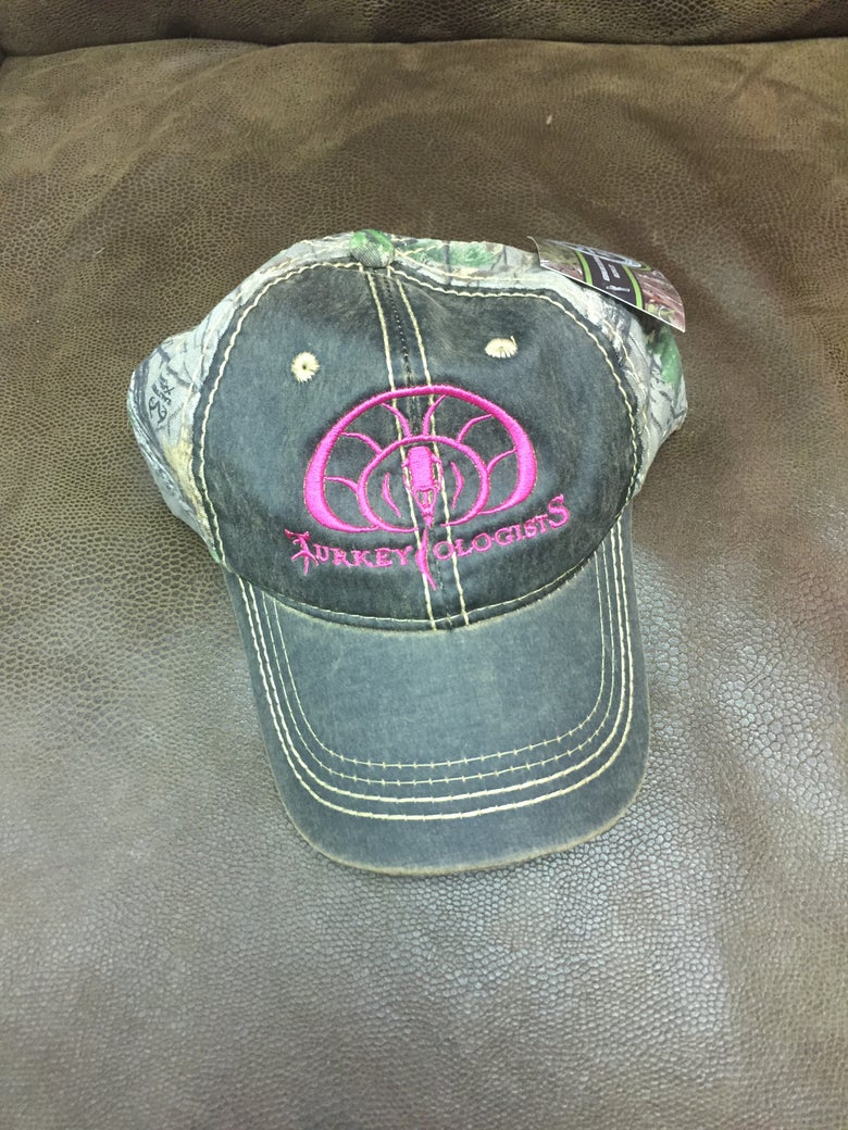 Image of Turkeyologists Hat - Pink & Camo