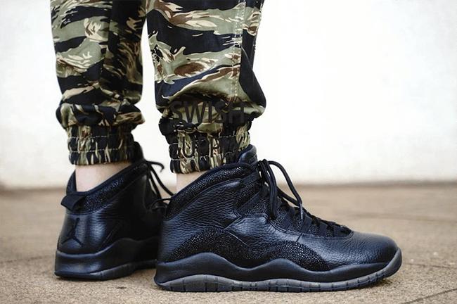 SelectedSNKRS — Air Jordan 10 X OVO Black