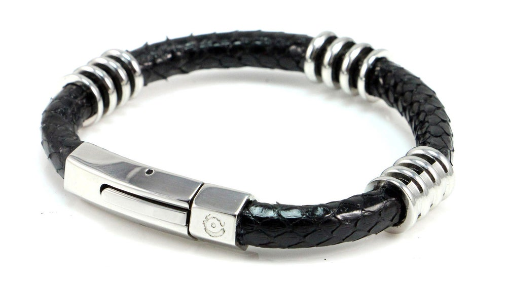 Image of ZENGER Genuine Black Python