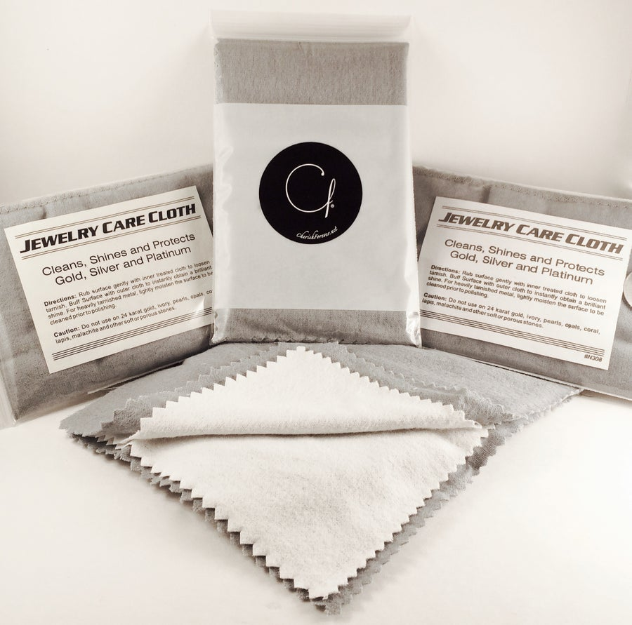 Image of Sterling Silver Cleaning Cloths