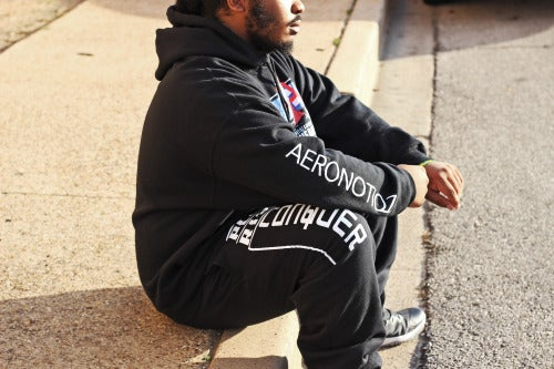 "Image of Black ""Off To The Races"" Hoodie!"