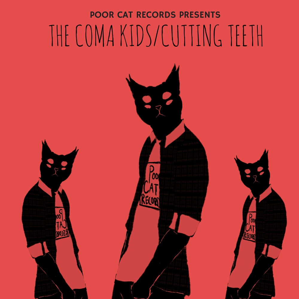 Image of The Coma Kids/Cutting Teeth Split EP on CD
