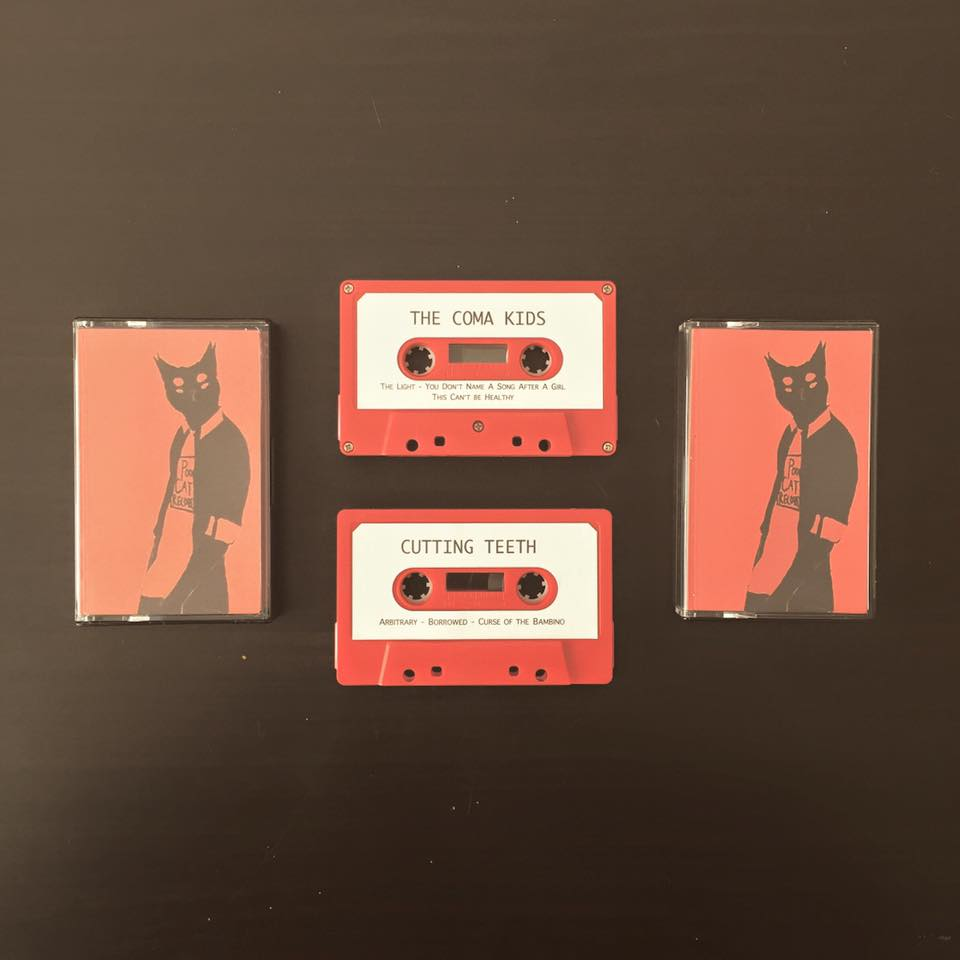 Image of The Coma Kids/Cutting Teeth Split EP on CASSETTE