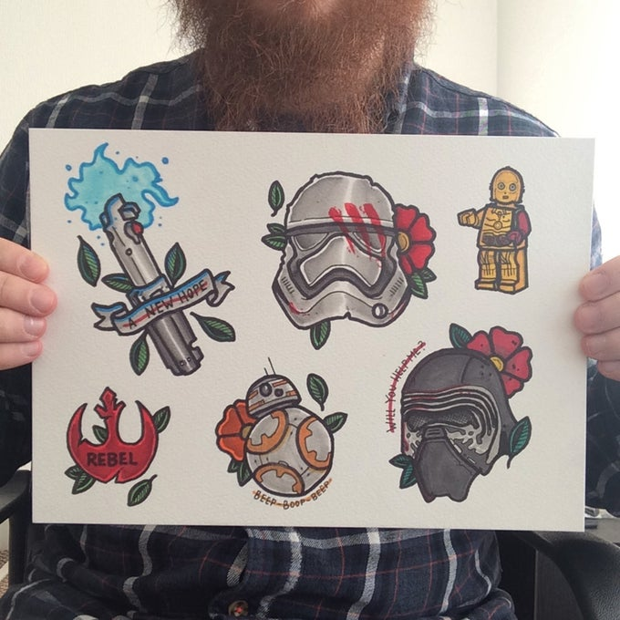 Image of Star Wars - The Force Awakens Flash Sheet
