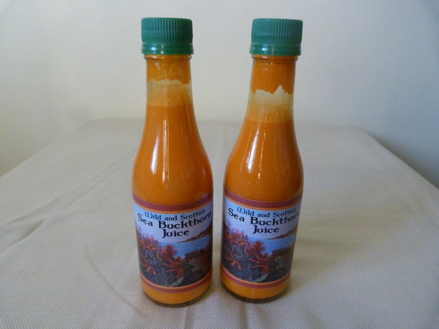 Image of Wild & Scottish Sea Buckthorn Juice - Click For More Details