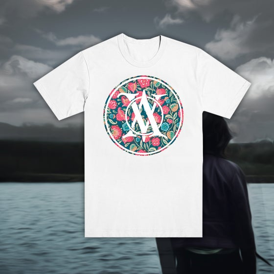 Image of Floral Logo Tee