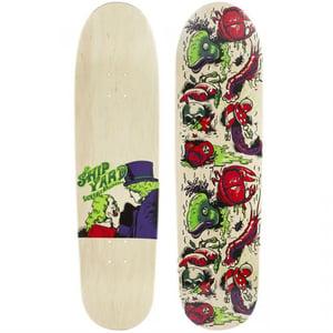 "Image of Shipyard Skates ""Lickable Wallpaper"" deck"