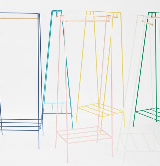 Image of 'A' clothes rail | 13 colours