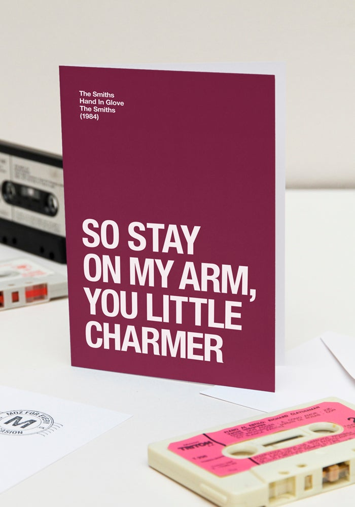 Image of Stay On My Arm – Valentines Day card