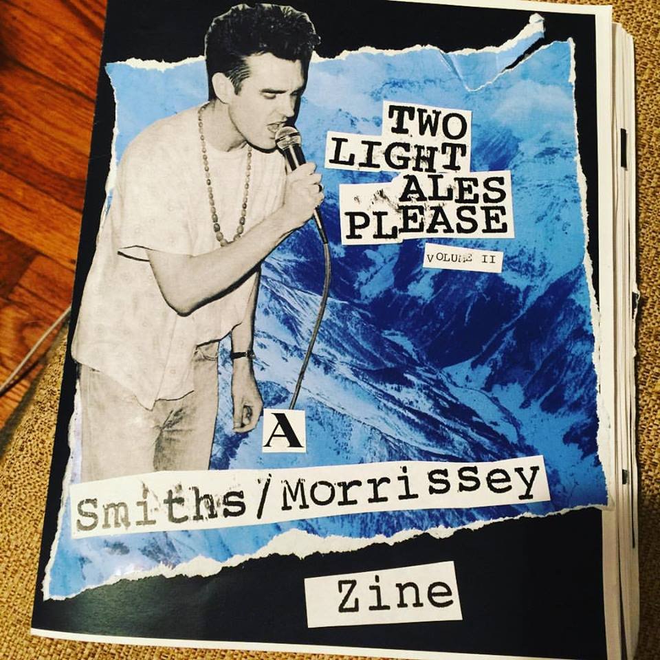 Image of Two Light Ales Please (Smiths/Morrissey fanzine) - Volume II.
