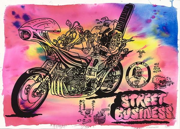 Image of Gestalten The Ride 2nd Gear screen print