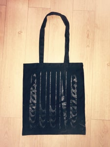 Image of TOTE BAG (black)
