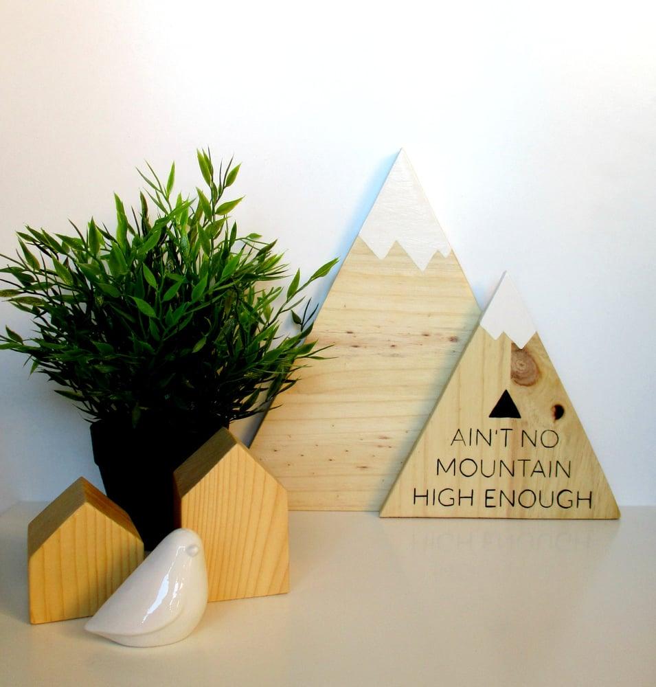 Image of Montañas - Wood