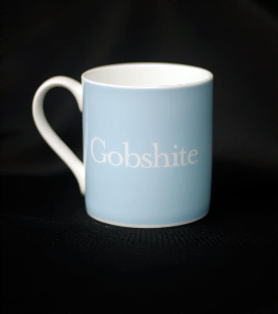 Image of Gobshite. Mug