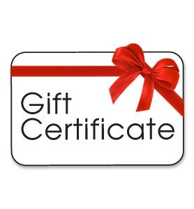 Image of Gift Certificates Available
