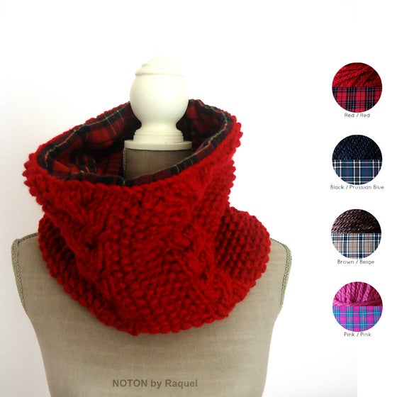 Image of Reversible Knit Scarf