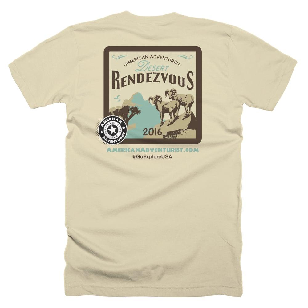 Image of Desert Rendezvous 2016 T-Shirt