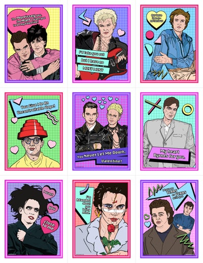 Image of READ DESCRIPTION! New Wave Valentine's Day Card Pack (2016)