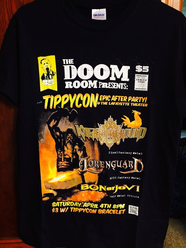 Image of Lorenguard/KnightoftheRound/BONerJoVI Event Tee