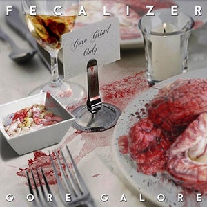 Image of FECALIZER	Gore Galore CD