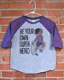 Image 1 of Superhero Girl Youth T-Shirt or Hoodie