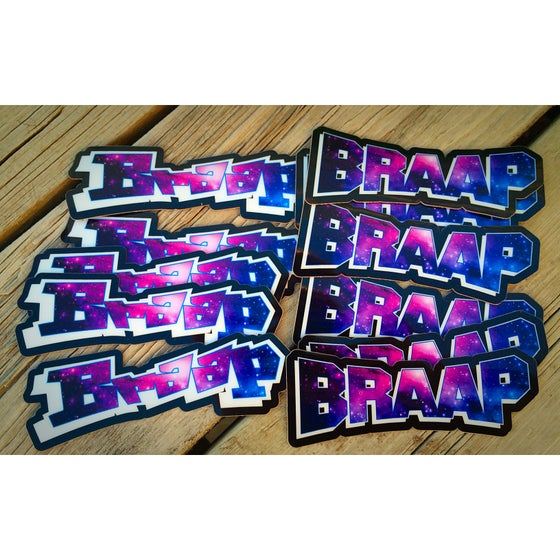 Image of Braap Galaxy Decal