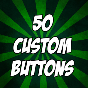 """Image of 50 custom 1"""" pinback buttons"""
