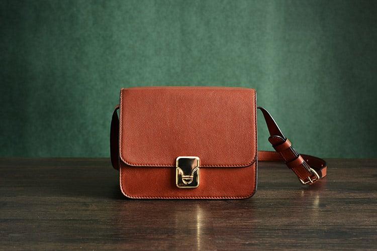 b3ec918f36fb Custom Handmade Vegetable Tanned Italian Leather Satchel Bag Shoulder Bag  Women Pouch Bag D048