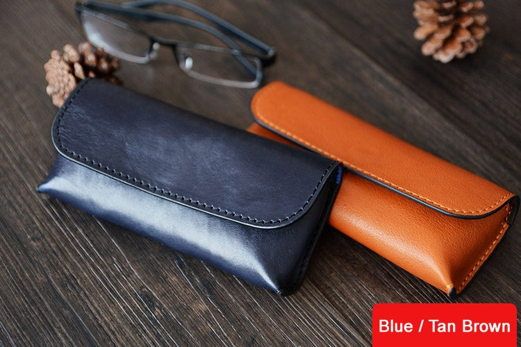 8dcc3332aea1 Image of Custom Handmade Vegetable Tanned Italian Leather Sunglass Case  Pouch Pocket D056