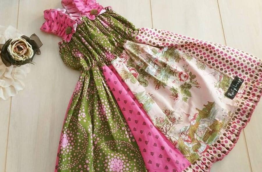 Image of Victorian Love Bug twirly dress