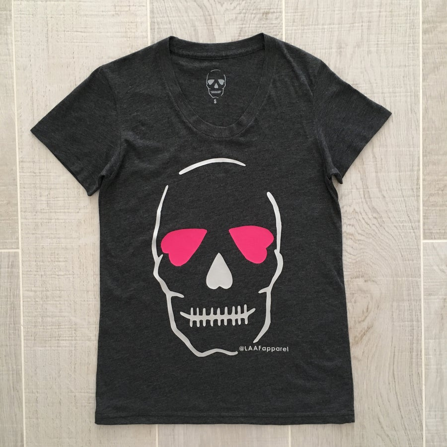 Image of Skull Inspiration - Pink and Grey