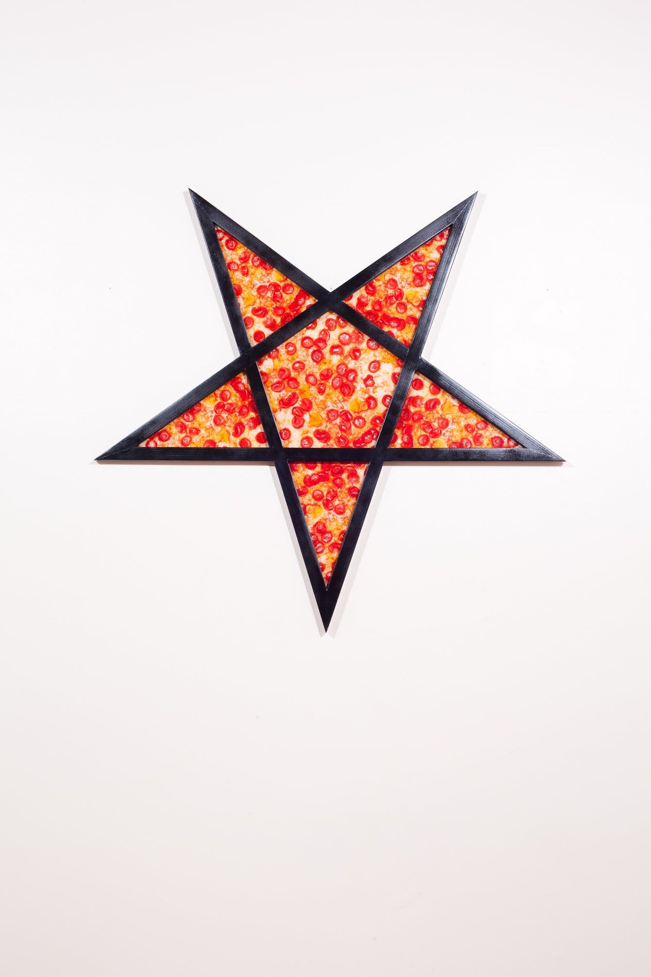 Image of Hand Made -Redwood- Pizza Pentagram