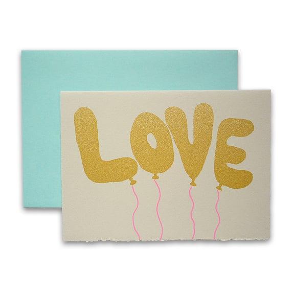 Image of Karte - Love Baloons