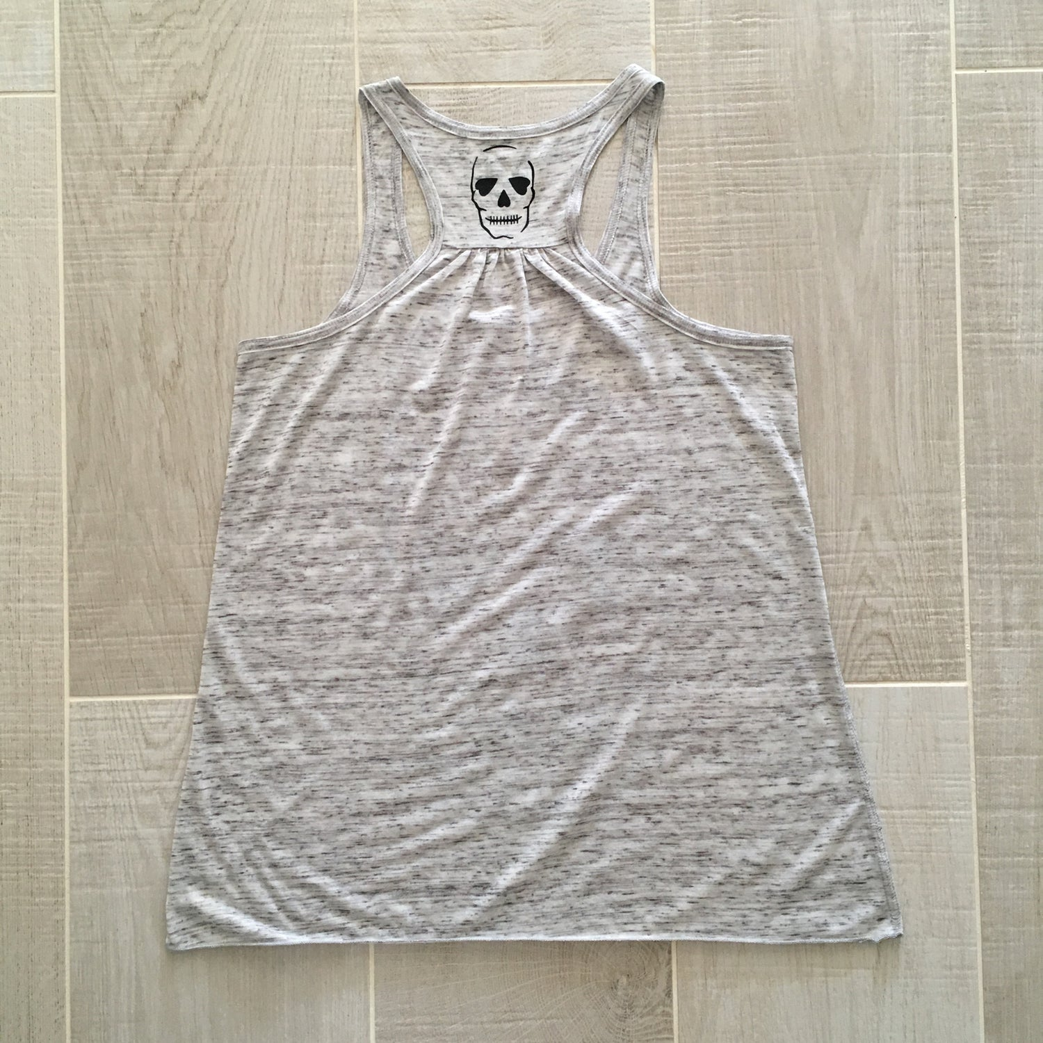 Image of Original Skull - Grey Vest