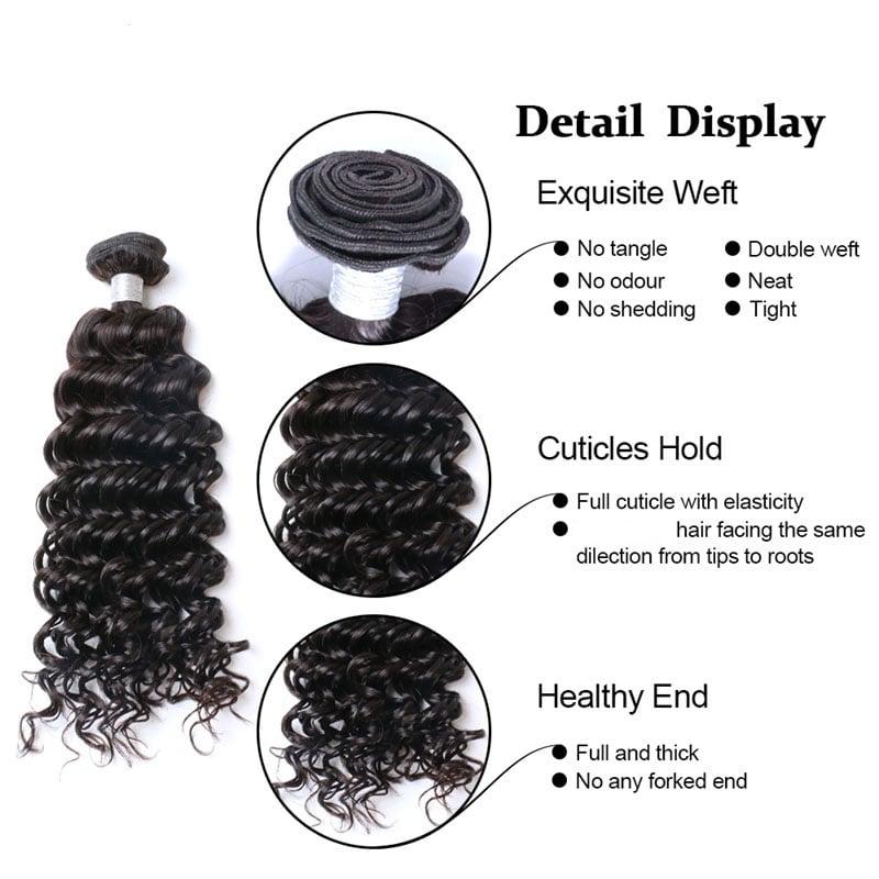 Image of Brazilian Hair Deep Wave #10509