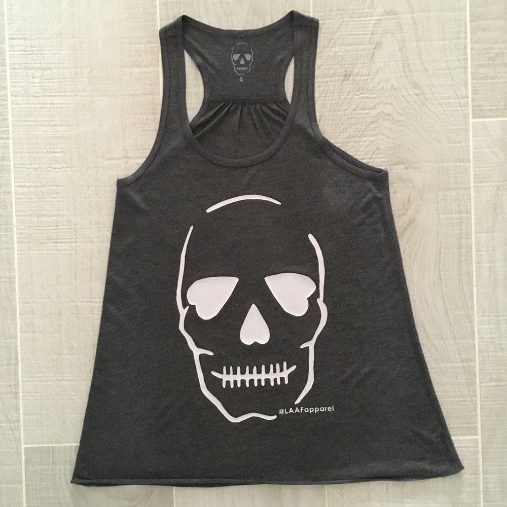 Image of Original Skull - Dark Grey Vest