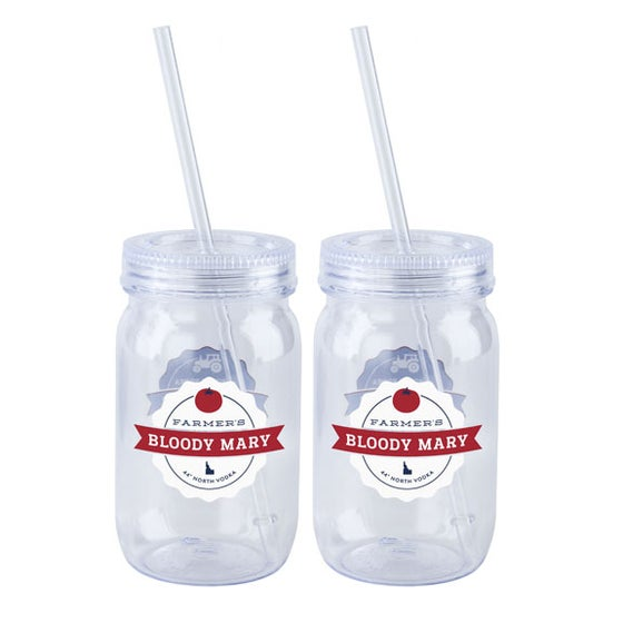 Image of Farmers' Bloody Mary Tumblers - Set of 4