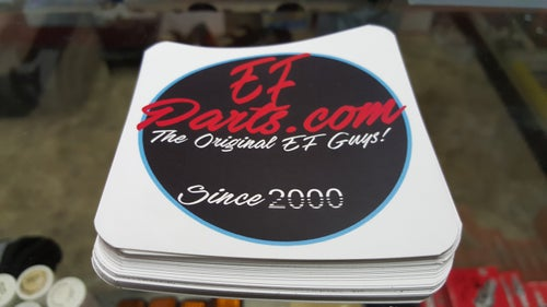 Image of EFparts.com Decal !