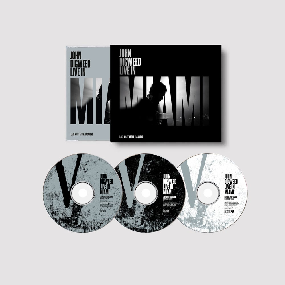 Image of 3x John Digweed 'Live In' CD Deal