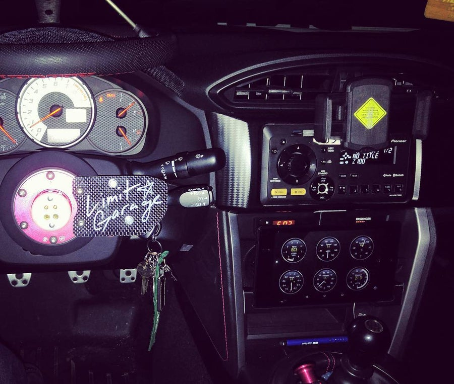 Image of Carbon Cruise Control Plate by Limit Garage