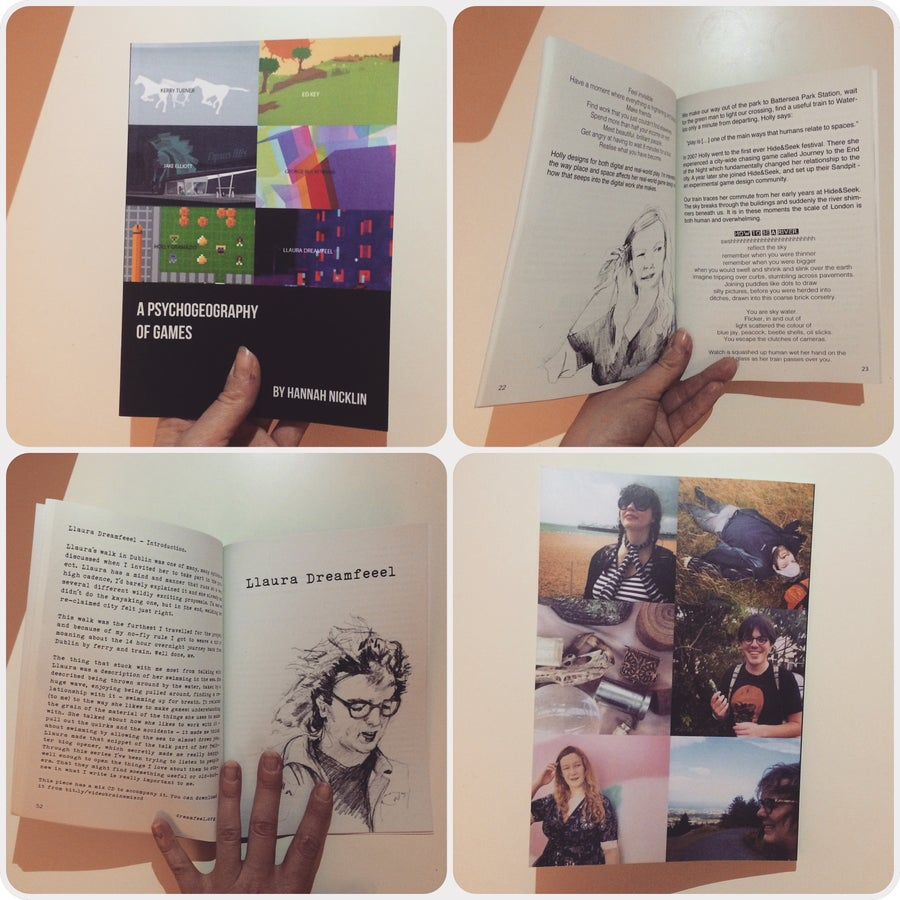 Image of A Psychogeography of Games zine - physical copy
