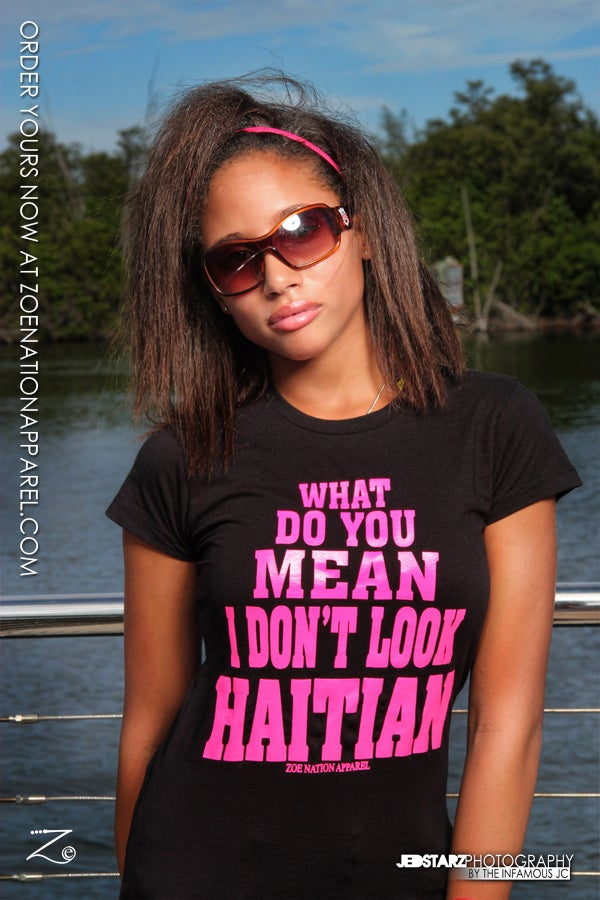 Image of You Don't Look Haitian Female