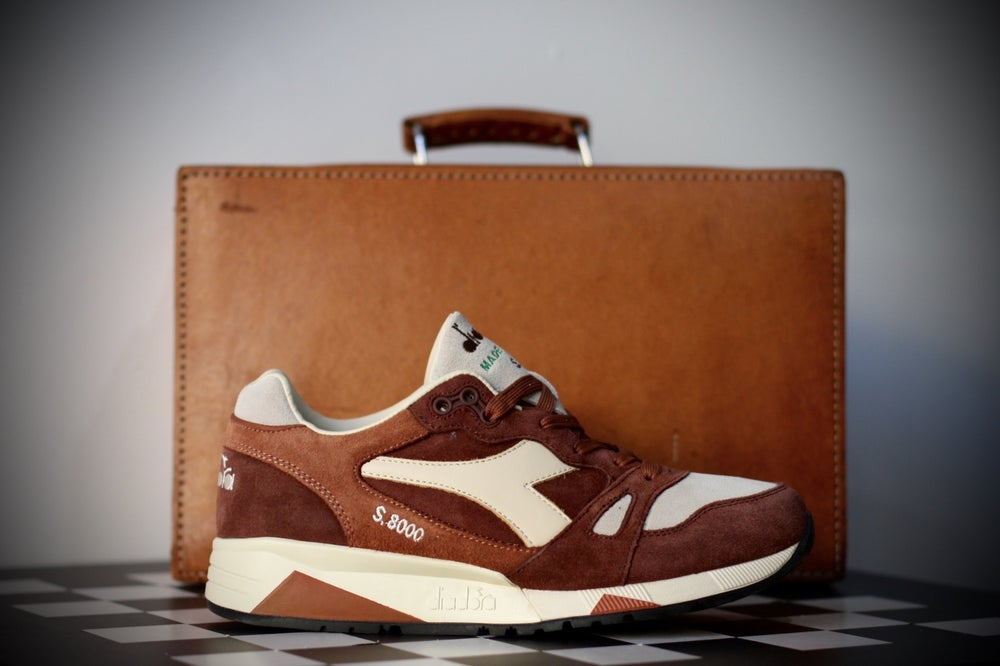 Image of Diadora S8000 S ITA Made in Italy (Brown Mushroom)