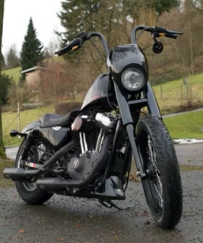 Image of Fork Shrouds for 39mm Front Ends (Available in Black or Chrome)