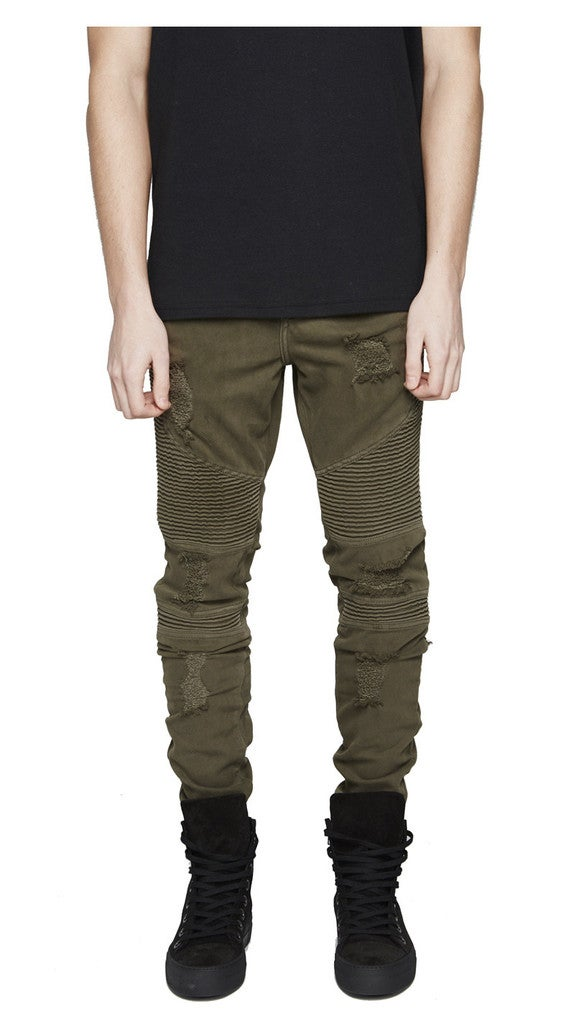 Image of OLIVE DENIM