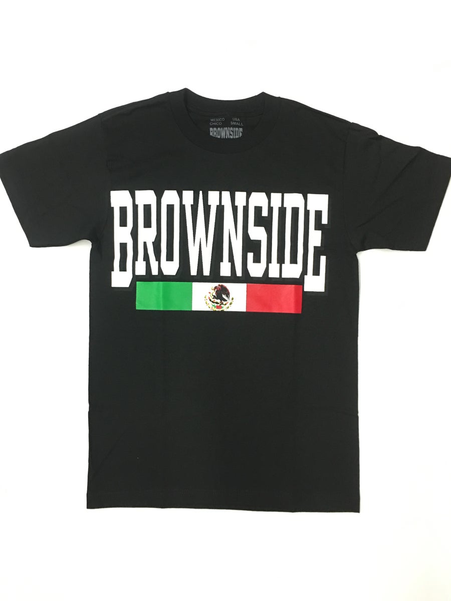 Image of BROWNSIDE LOGO TEE