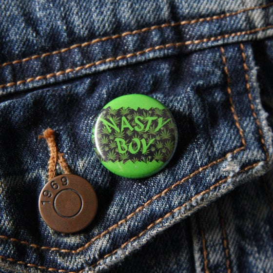 Image of Nasty Boy button