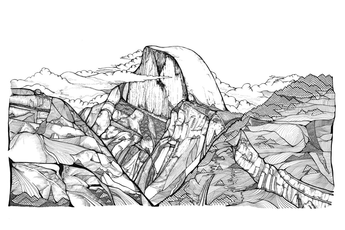 Image of Half Dome